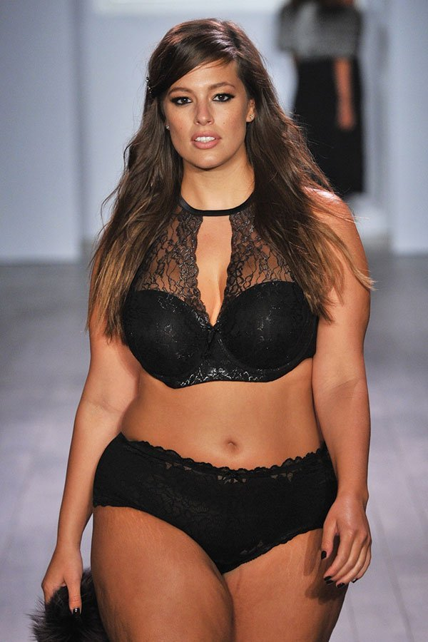 Ashley Graham, modella curvy,