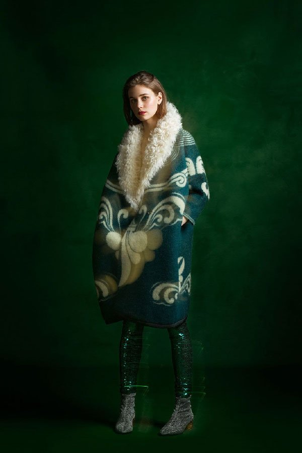 longing for sleep, Marit Ilison, vintage coat, Tallin,