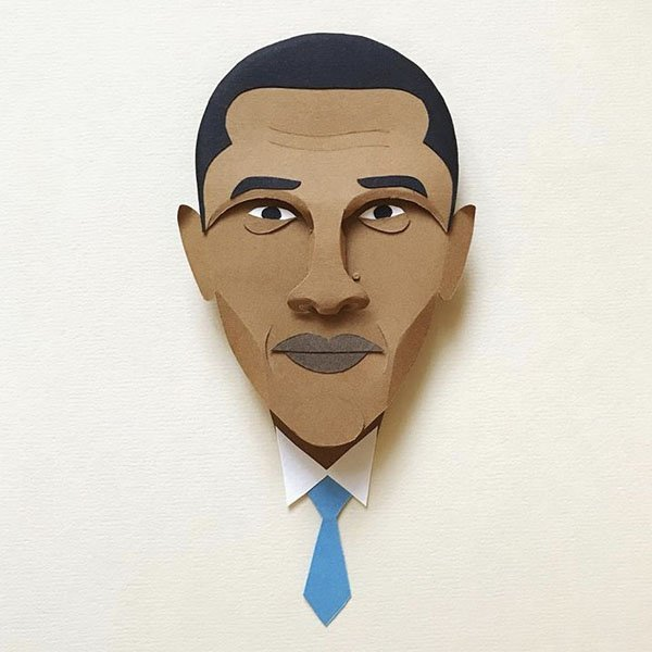 Obama, pop art, illustration, paper, carta,