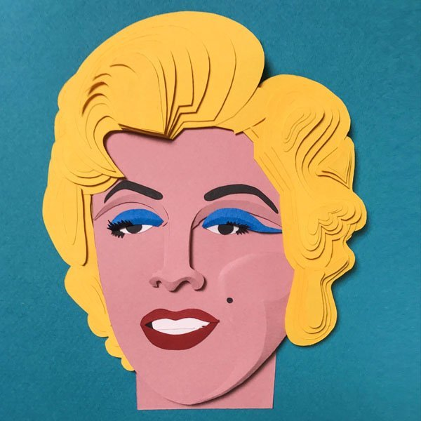 paper illustration pop art