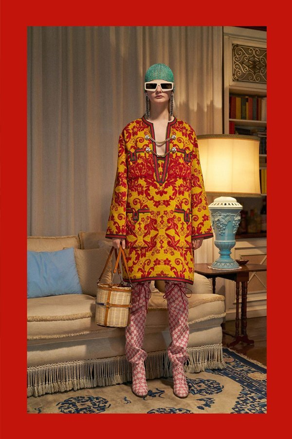 gucci, Alessandro michele, pre-fall 2018, the impression, the uncool