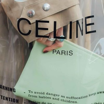 borse in plastica, tendenze, Celine,