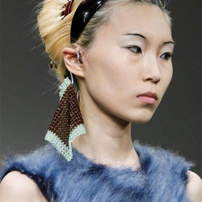 Faustine Steinmetz London fashion week FW 18