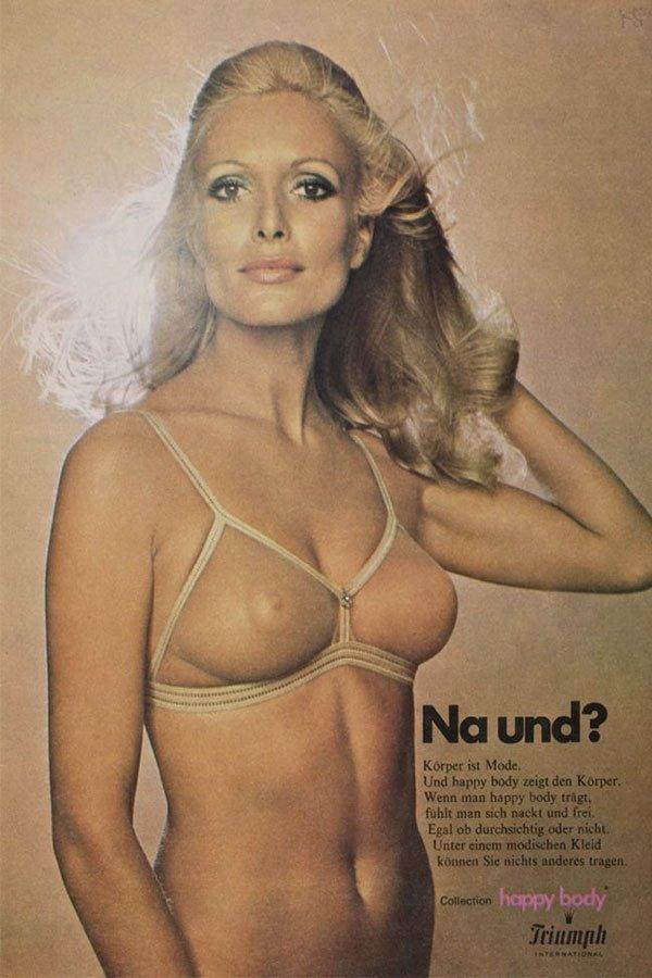 Reggiseno-anni-'70 storia del reggiseno
