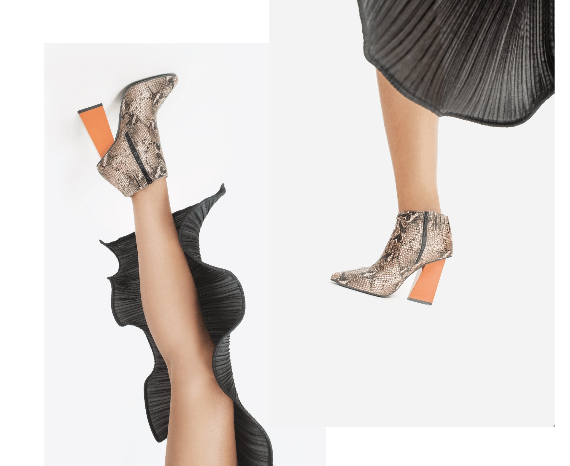 the fashion atlas, Jeffrey campbell, scarpe pitone, anni 80