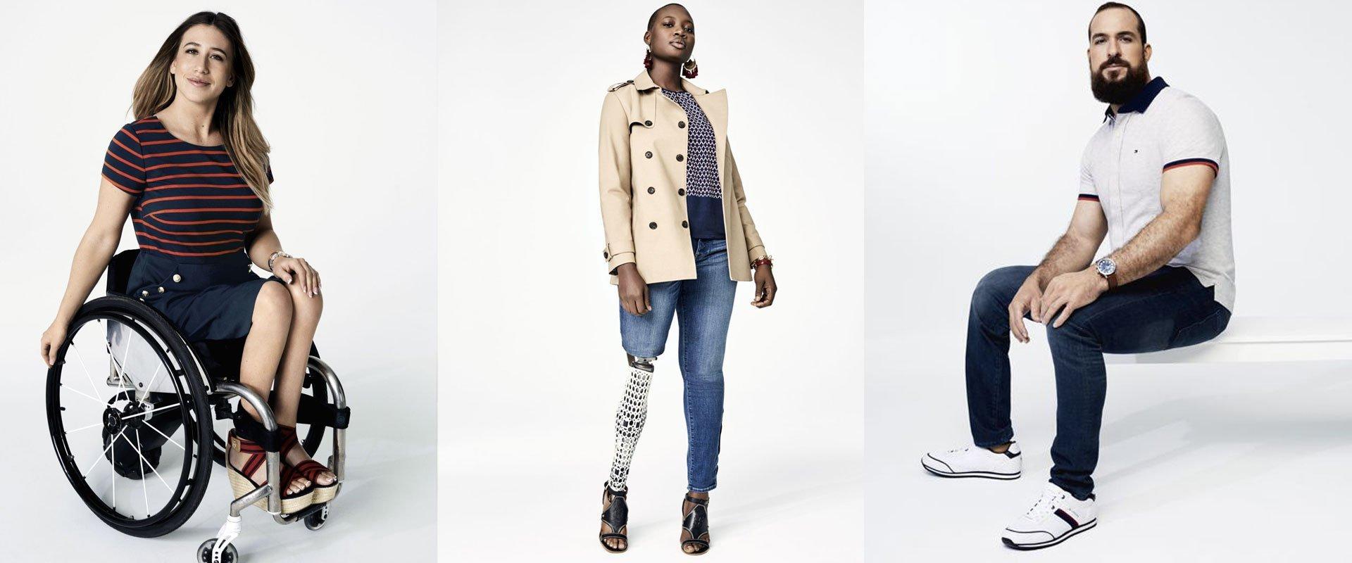 Tommy-hilfigher collezione autunno/inverno 2018 adaptive fashion