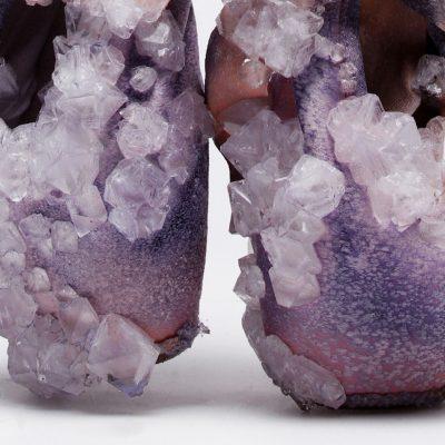Alice Potts, crystallized ballet slippers, perspire, biodesign