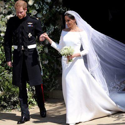 L'abito da sposa di Meghan Markle