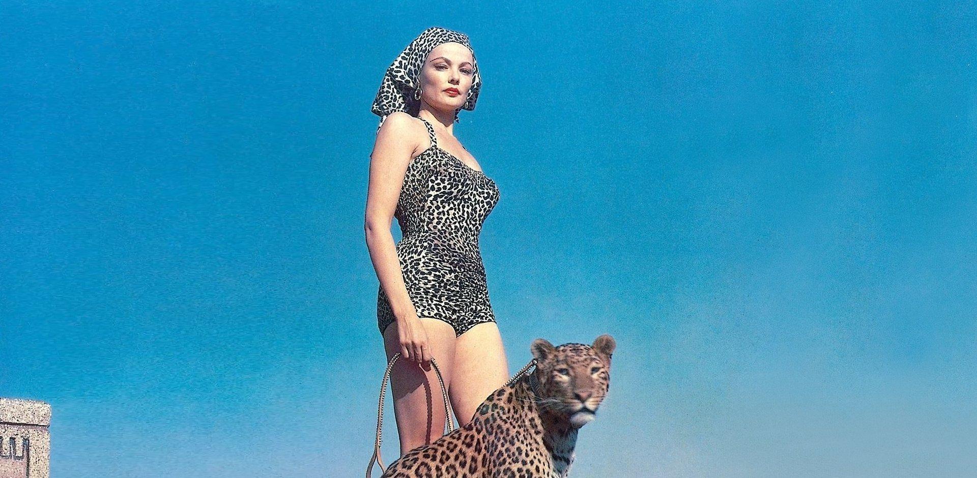 animalier, Gene Tierney