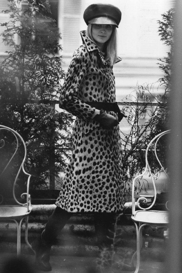 animalier leopard coat 1960