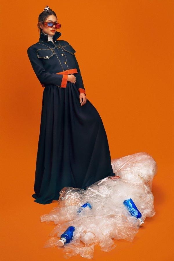 plastica riciclata nella moda, newlife yarn, Martina parente,