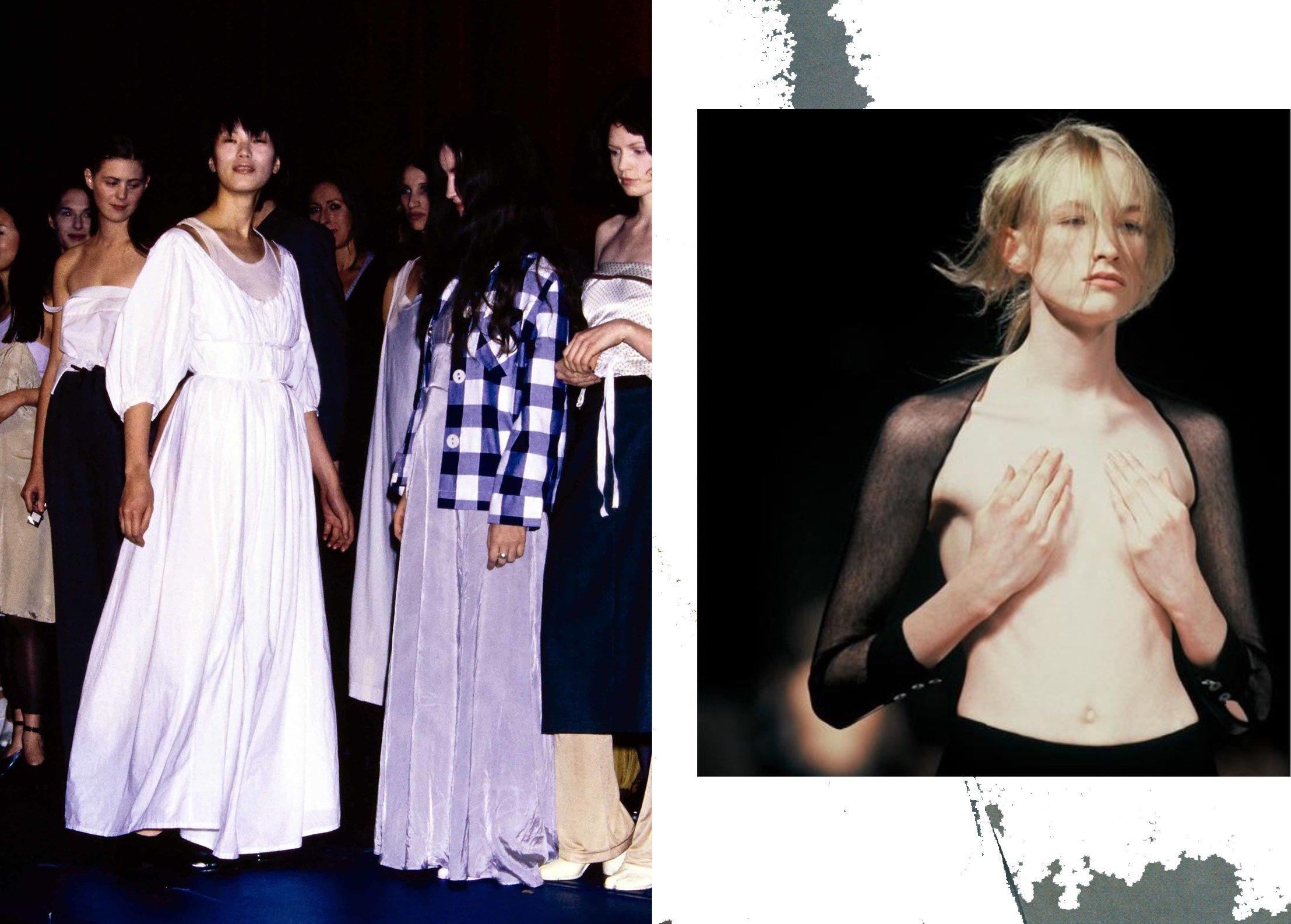 minimalismo, anni 90, moda