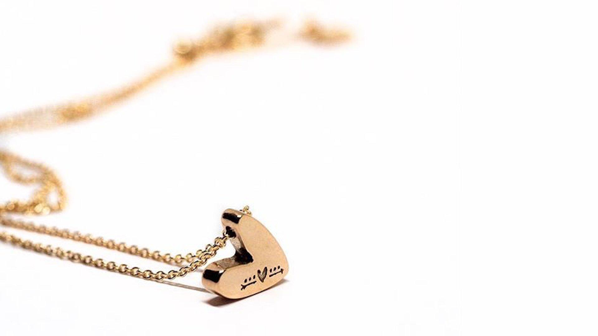 cuori e frecce, gioielli, san Valentino, oro rosa,