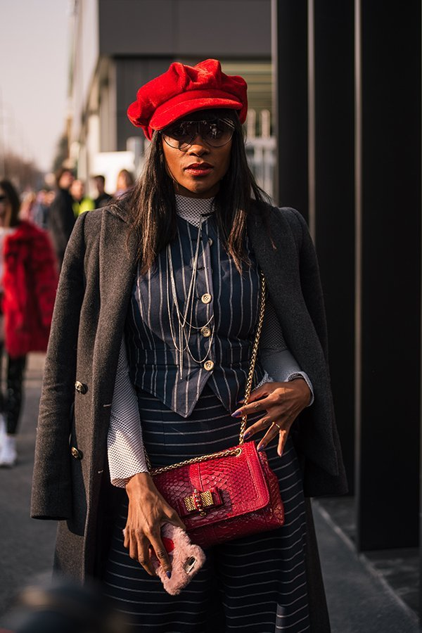 streetstyle, milano fashion week, fw19, gucci