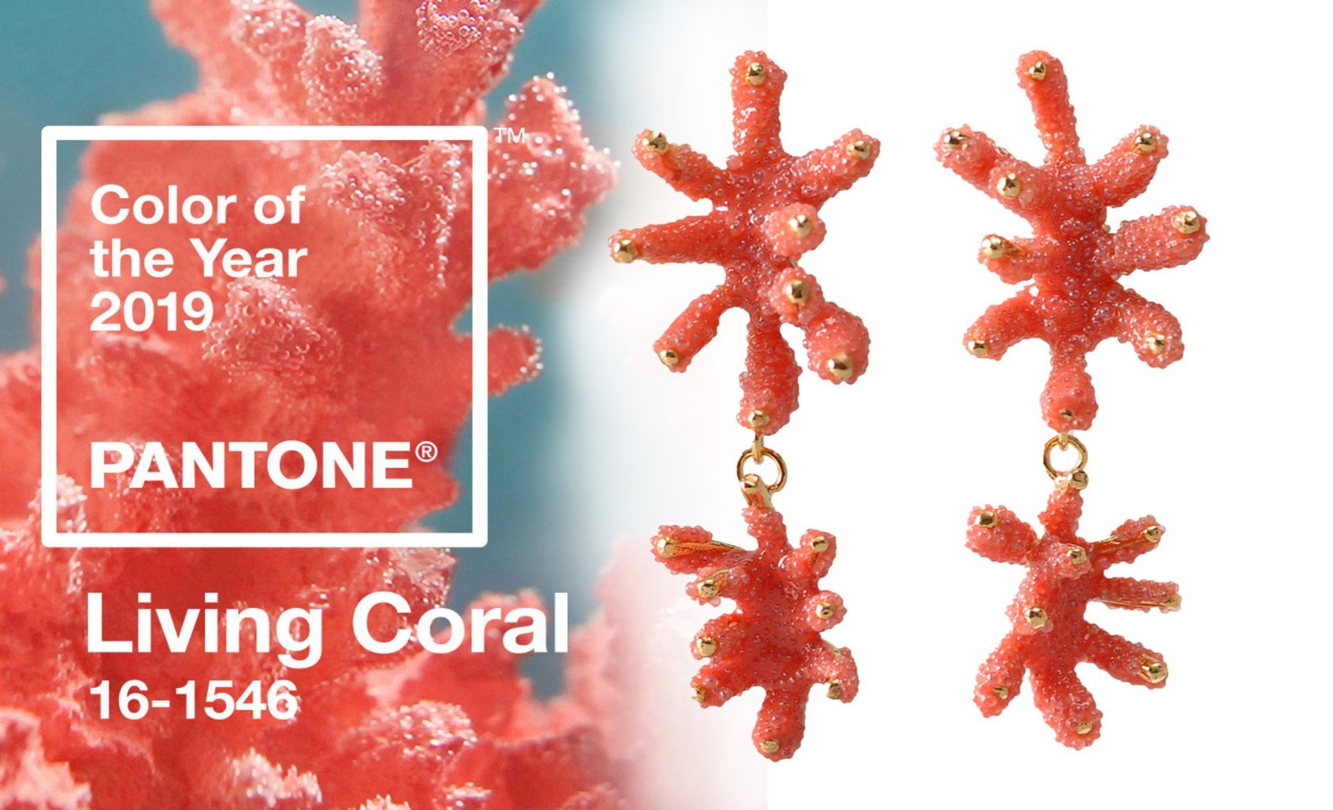 pantone 2019, color of the year, living coral, gioielli corallo, Aisegul telli,