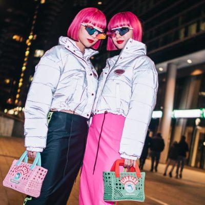 streetstyle milano twins amiaya