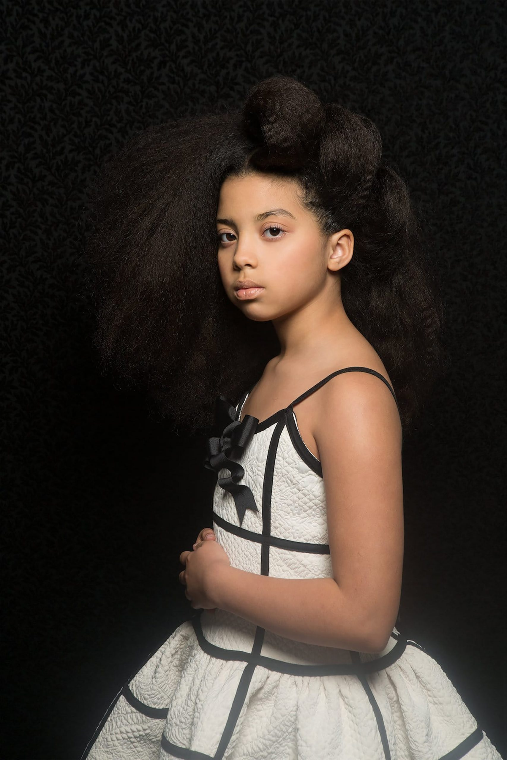 Afro Art, creative soul, capelli strutturati ragazze di colore