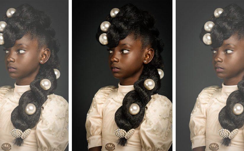 afro art, capelli naturali, ragazze africane, ritratto barocco,