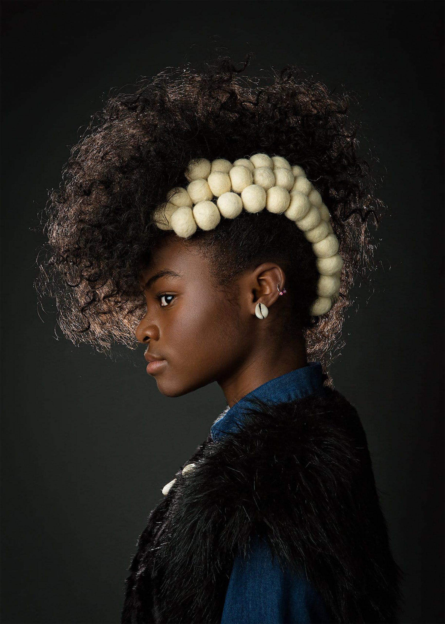 Afro Art, creative soul, stile steampunk, capelli ragazze di colore