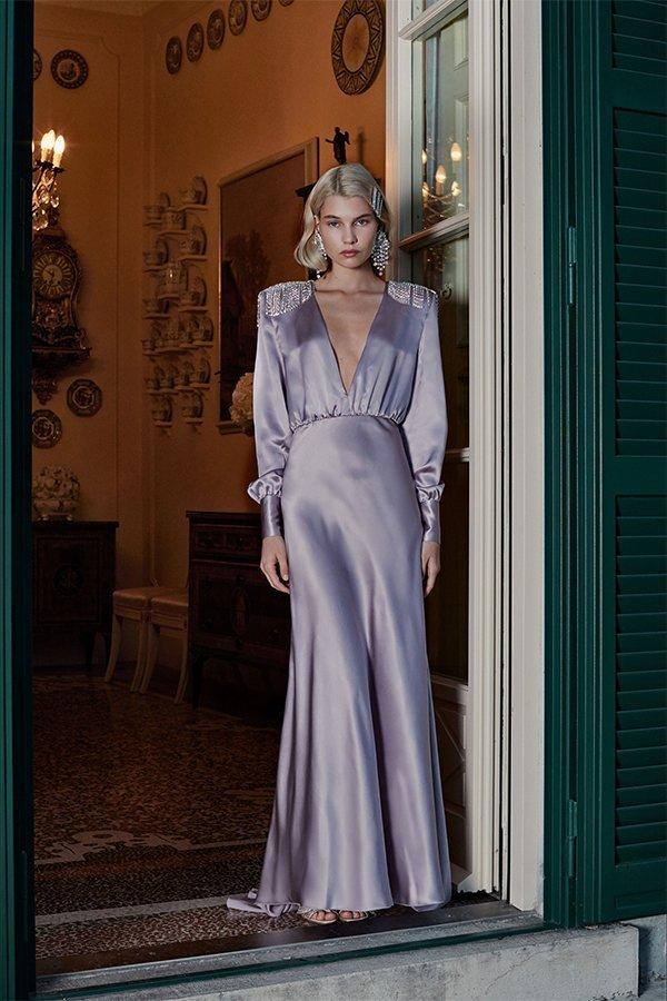 Alessandra Rich, new trend, lilla, ss19