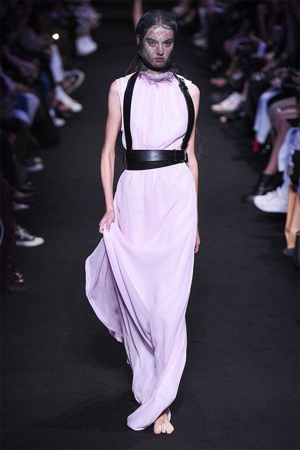 Ann Demeulemeester, new trend, lilla, ss19
