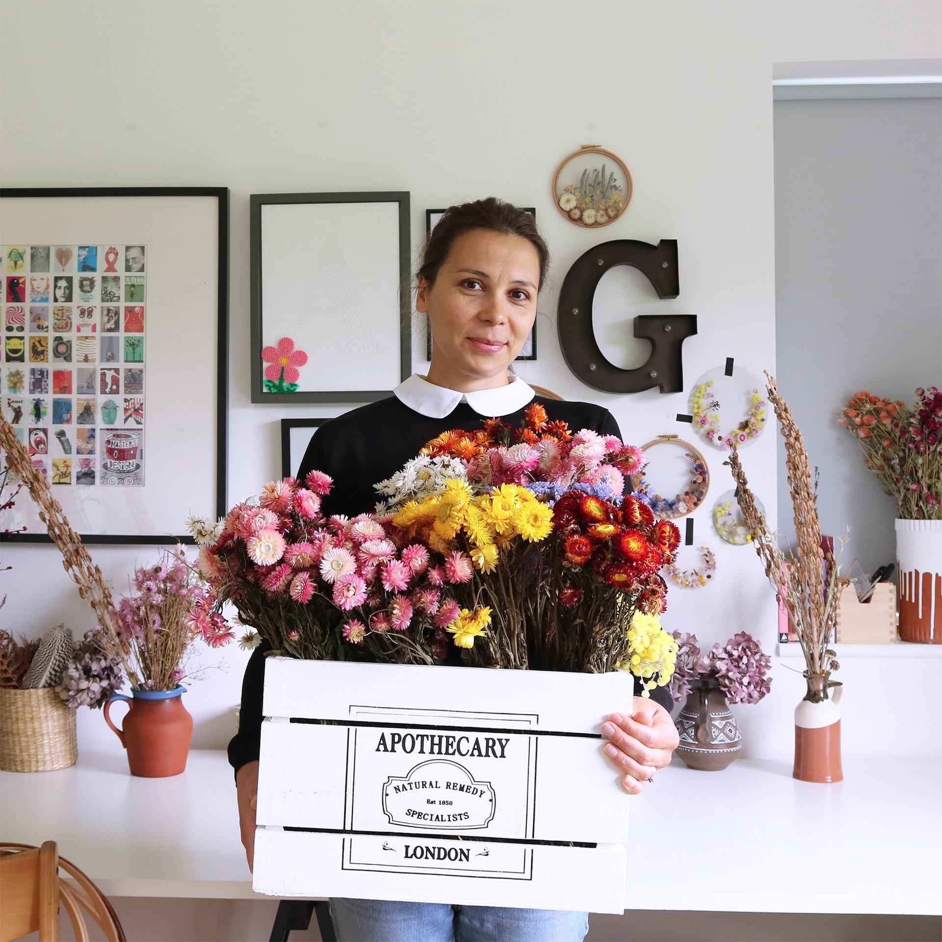 Intervista Olga Prinku, creatrice ricami in tulle