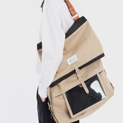 John Galliano X Maison Margiela, borsa ndn, XL, porta i-pad, glamour nomade