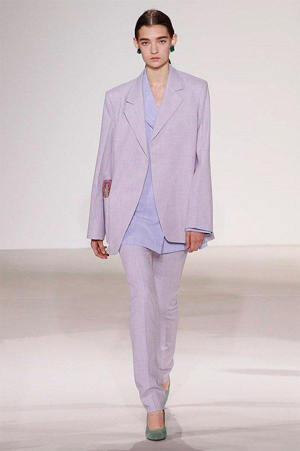 Victoria Beckam, streetstyle, trend, liliac