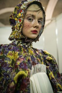 Yanis Stepanenko Ukrainian fashion week couture costume designer