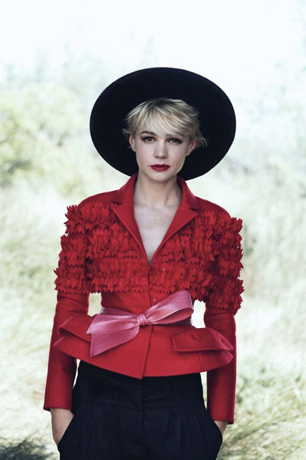 Bar jacket Dior, Carey Mulligan