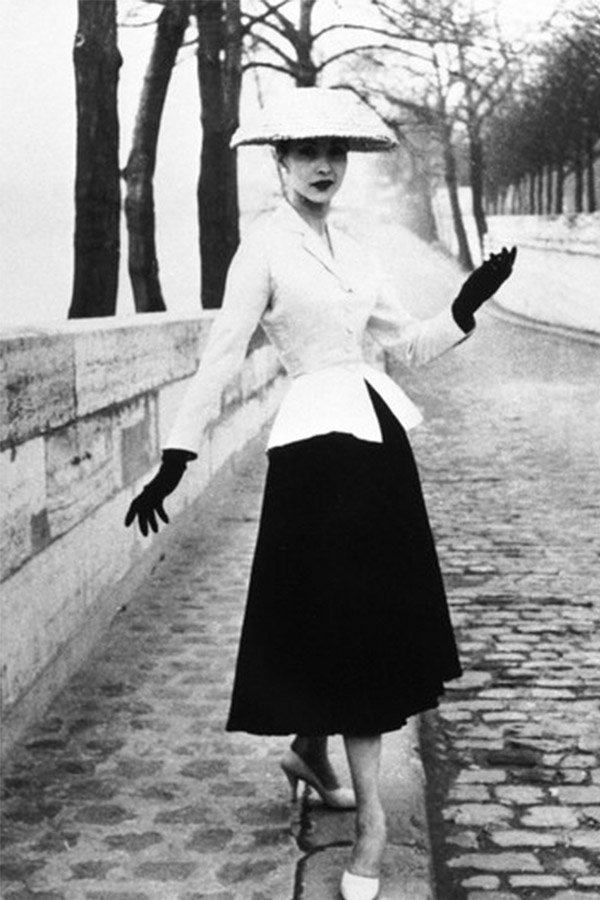 Bar jacket Dior, New Look 1947
