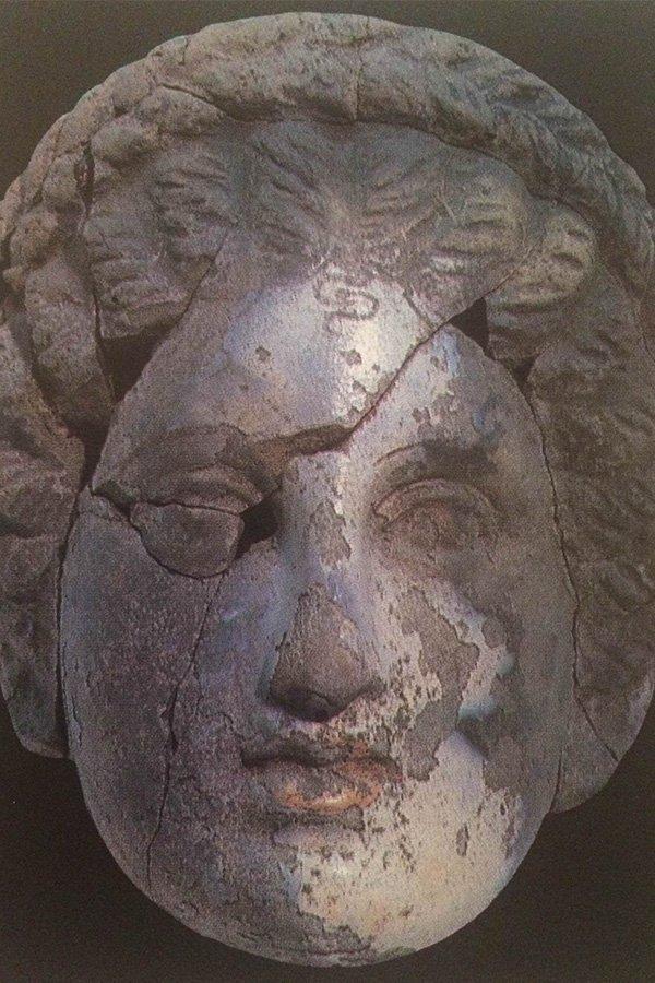 Commedia greca maschera