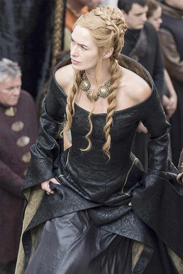 Game of Thrones, Cersei Lannister, funeral dress