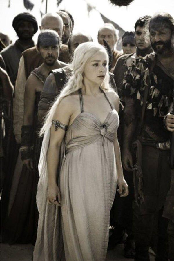 Game of Thrones, Daenerys bambina
