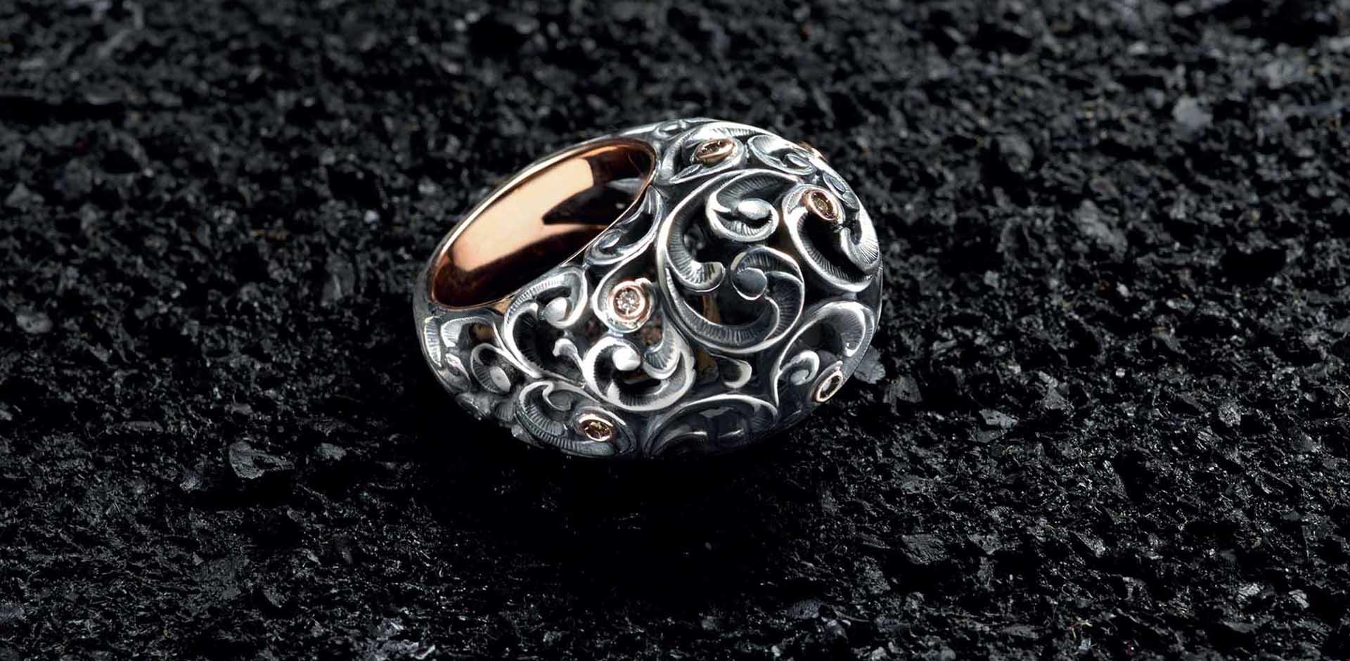 Maria Luisa Pianegonda, anello, gioielli, Maria e Luisa