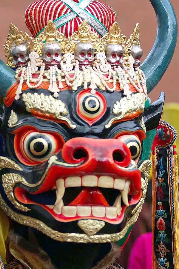 Maschera Cina