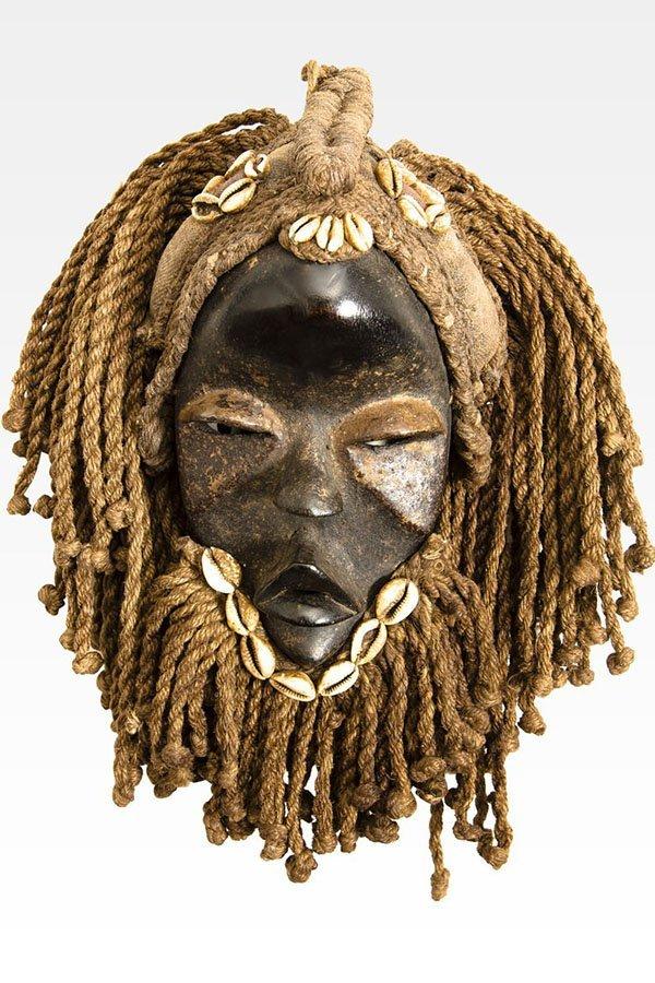 Maschera africana, etnia Dan