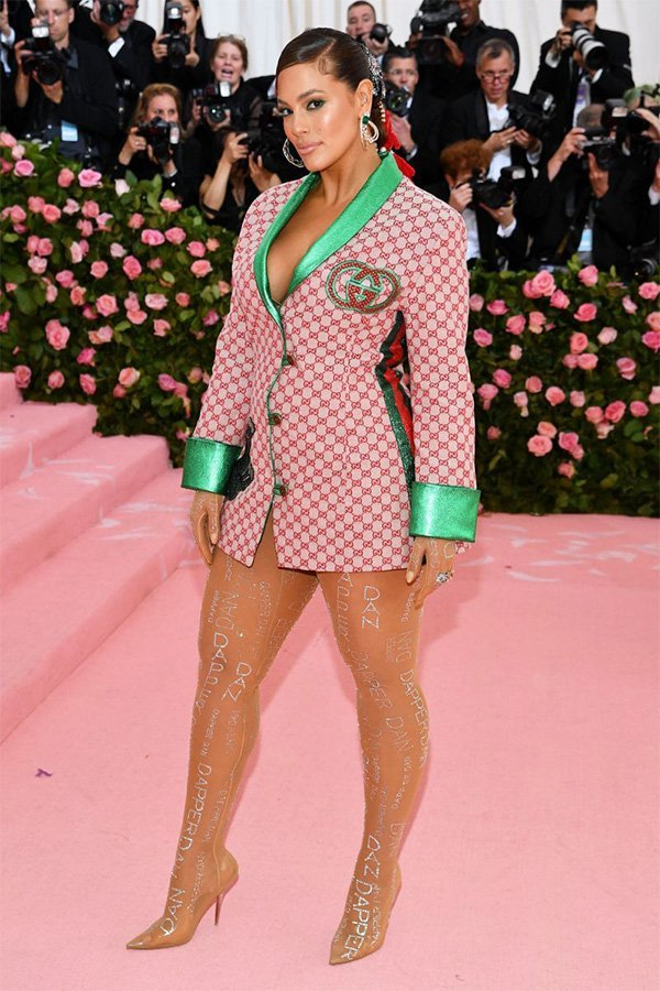 Met Gala 2019, camp, Ashley Graham in Gucci