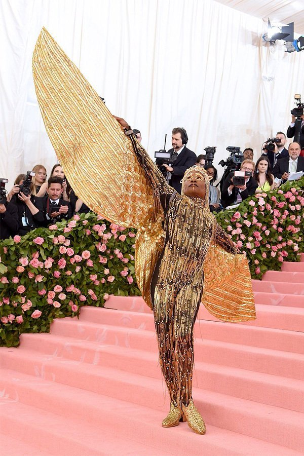 Met Gala 2019, camp, Billy Porter in The Blonds