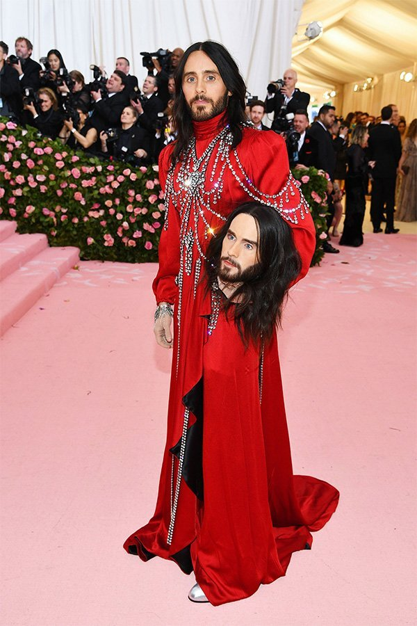 Met Gala 2019, camp, Jared Leto in Gucci