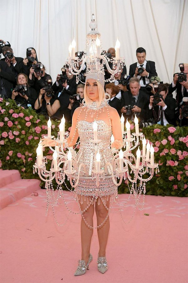 Met Gala 2019, camp, Katy Perry in Moschino