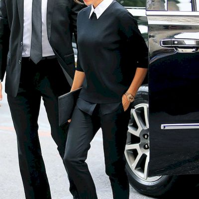 Minimalismo francese, french-girl look, Victoria Beckam