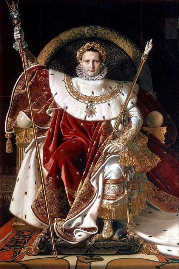 Napoleone Bonaparte, vestito rosso