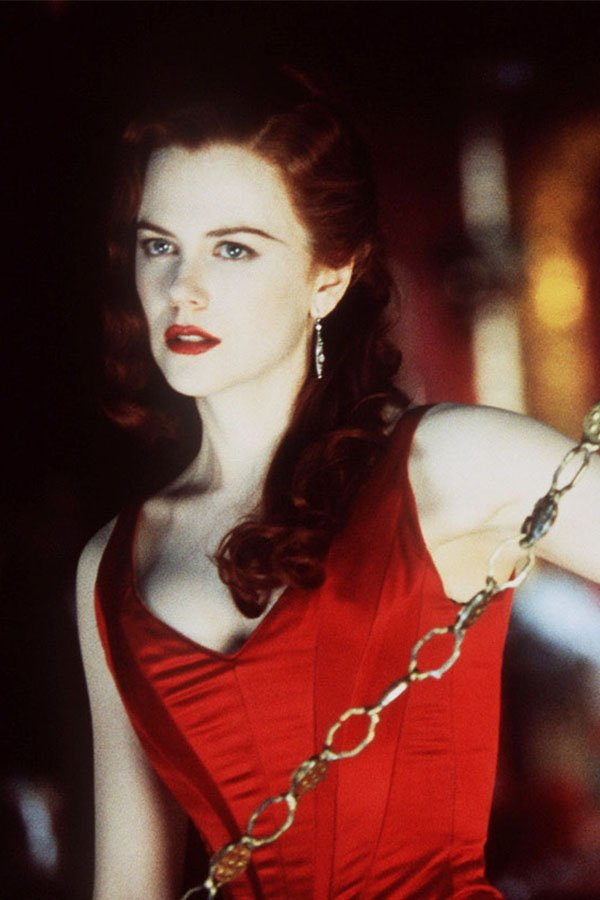 Nicole Kidman, Moulin Rouge, red dress