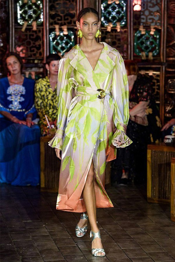 Peter Pilotto spring 2019, trend trench