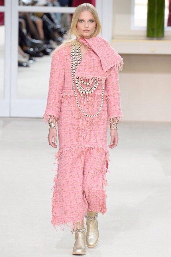 Storia delle perle, Chanel fall 2016