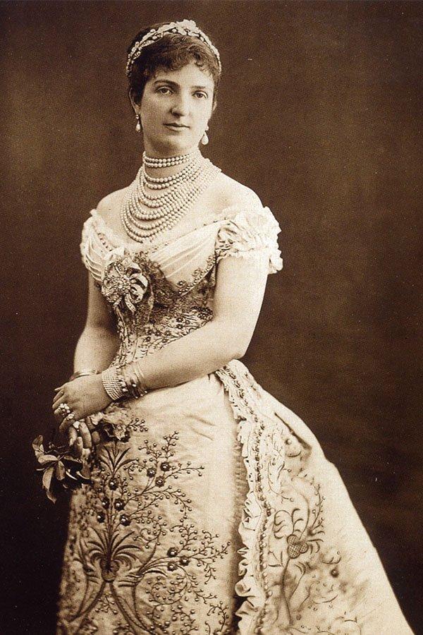 Storia delle perle, Regina Margherita
