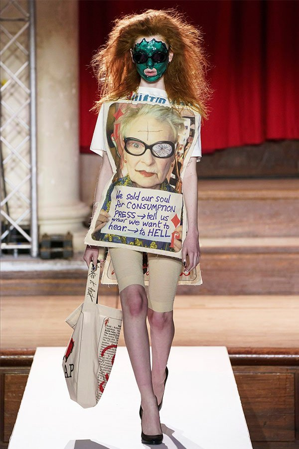 Vivienne Westwood, mask trend
