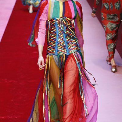 rainbow fashion trend, pride month