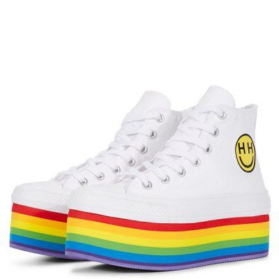 #rainbow power, Converse Pride x Miley Cyrus